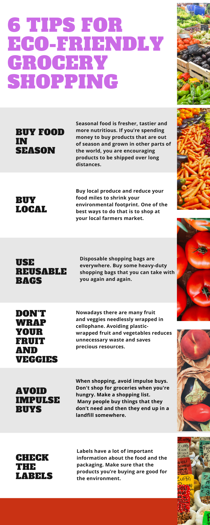 tips fpr eco-friendly shopping