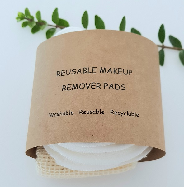 Bamboo reusable makeup pads