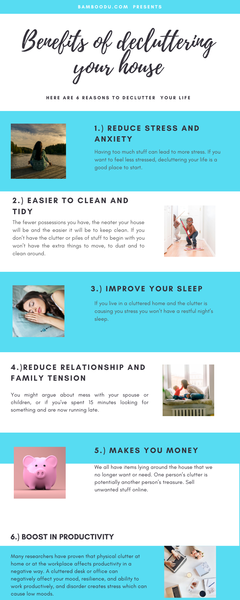 DECLUTTER YOUR HOME INFOGRAPHIC
