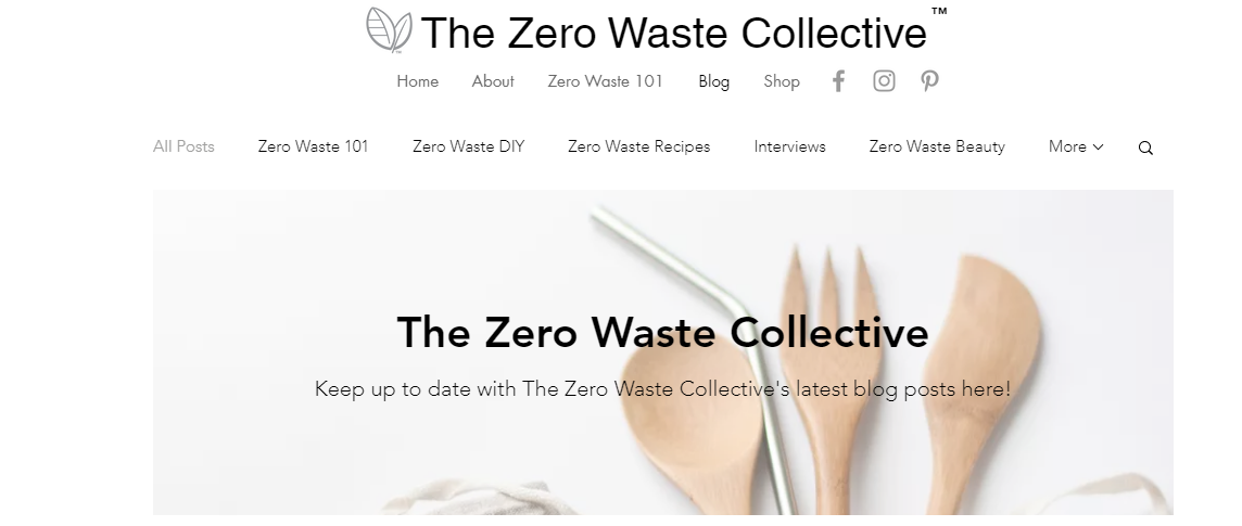 ZERO WASTE BLOGS