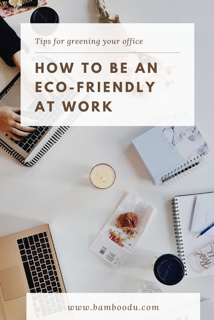 tips for eco friendly workplace