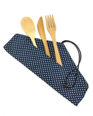 Eco-friendly Bamboo Cutlery Set