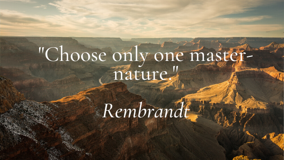 Choose only one master-nature