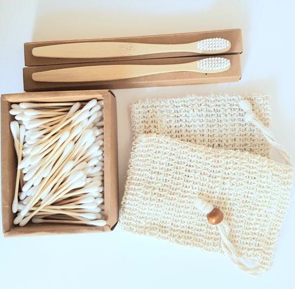 bamboo bathroom gift set