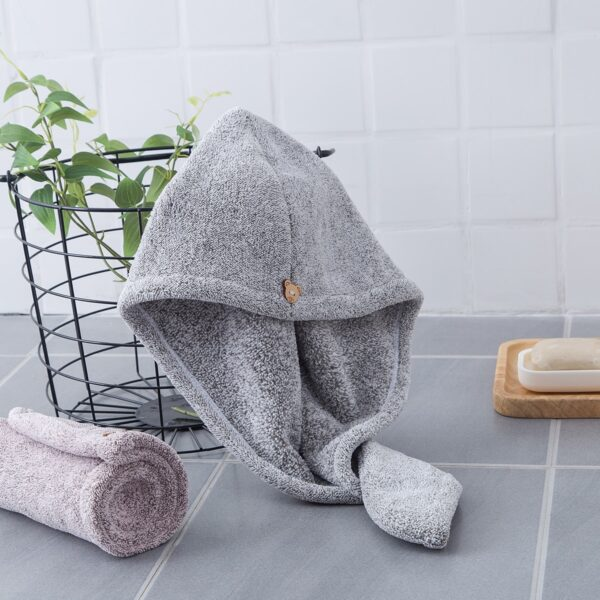 Hair Towel Bamboo Fiber Towel